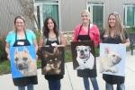 Brandy, Kamille, Trisha and Teri